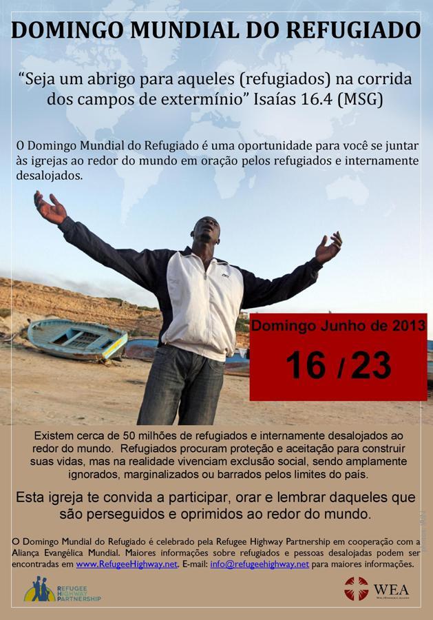 DOMINGO DO REFUGIADO site
